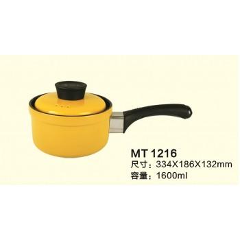 單柄陶瓷黃金鍋