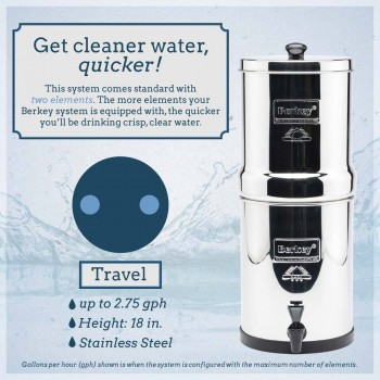 Travel Berkey 5L 淨水器
